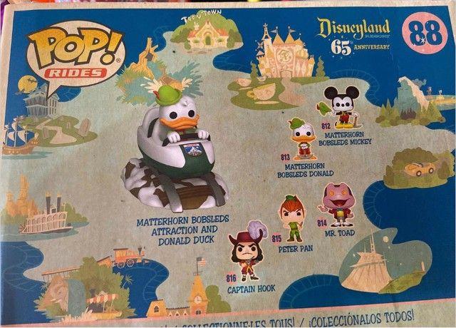 Funko Pop! Disneyland Resort - Donald Bobsleds Atraction #88 - Foto 6