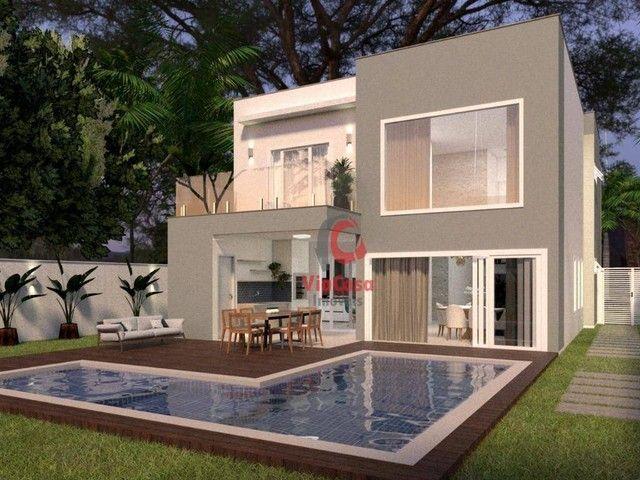Casa com 4 Quartos Sendo 3 Suítes à venda, 220 m² por R$ 890.000 - Extensão do Bosque - Ri - Foto 2