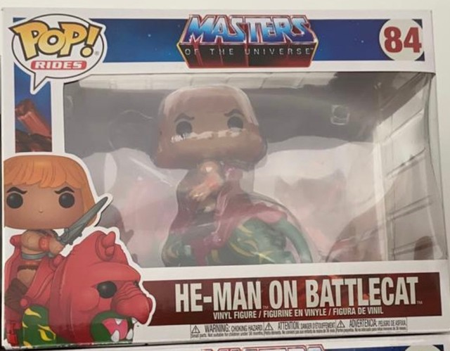 Funko Pop! Rides Masters of The Universe: He-Man on BattleCat #84 - Foto 4