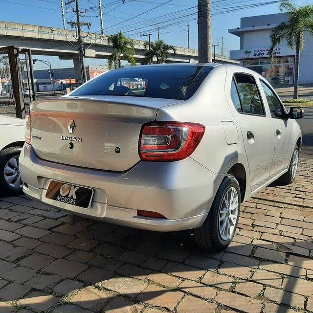 Renault Logan Life 1.0 12v 2020! R$52.500,00 à vista! - Foto 5