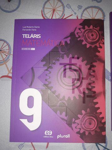 Livro do 9 ano de matematica telaris mais o caderno de atividades - Foto 2