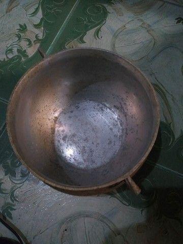 Panela tipo caldeirão alumínio Grosso - Foto 5