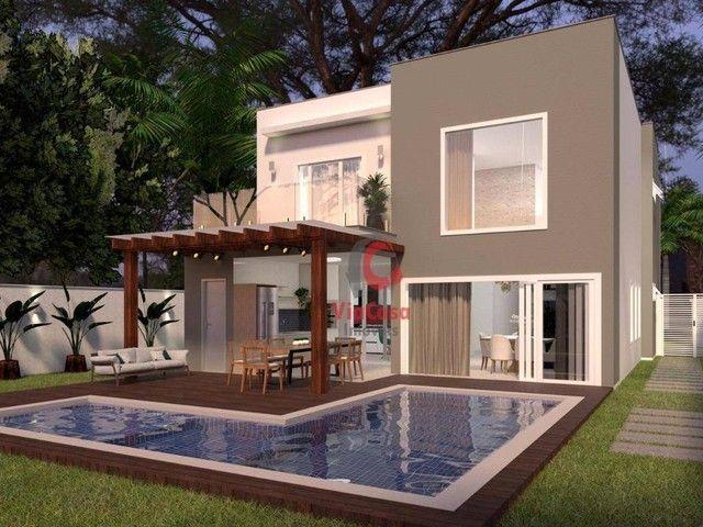 Casa com 4 Quartos Sendo 3 Suítes à venda, 220 m² por R$ 890.000 - Extensão do Bosque - Ri - Foto 10