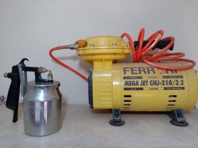 Compressor Ar Direto Mega JET cmj-210 Usado apenas 2X