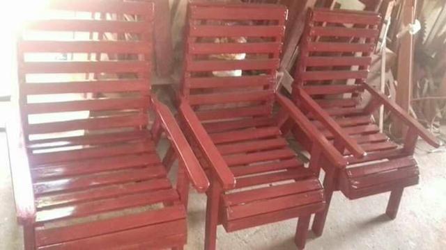 Cadeiras em madeira promoção