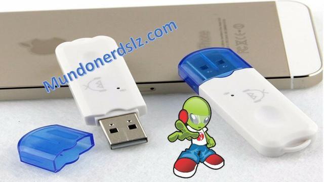 Adaptador de Áudio Bluetooth Usb Adaptador Musica Carro em são luis ma - Foto 2