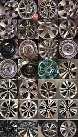 Roda Ford Eco Sport aro 16 2014 - Foto 3