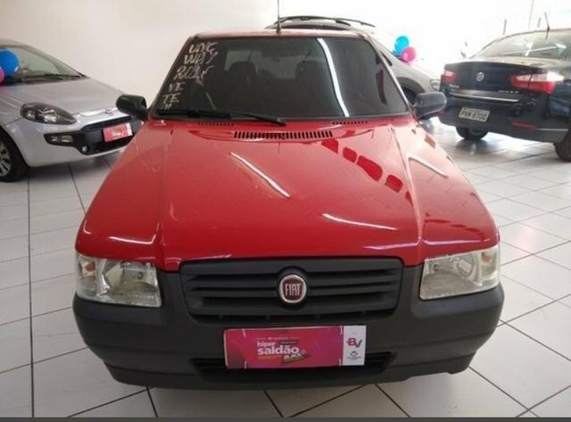 Fiat Mille 1.0 completo PRESENTÃO DE NATAL - Foto 6