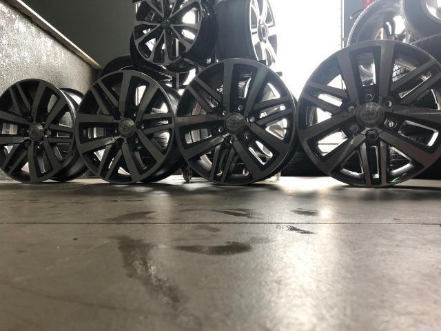 Rodas Aro 18 Hilux SRX 2018 Original - Foto 15