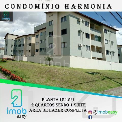 Harmonia, 2 quartos, área de lazer completa (documentação ok)