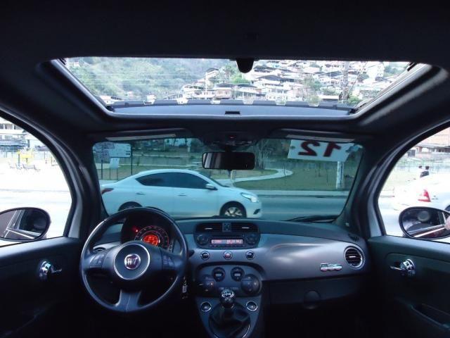 FIAT 500 2011/2012 1.4 SPORT AIR 16V GASOLINA 2P MANUAL - Foto 12