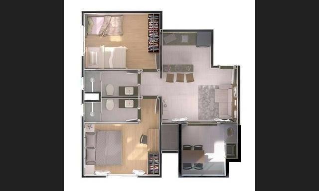 Salinas Exclusive Resort - Apartamento 311 com 2 quartos (Bloco 01) - Foto 4