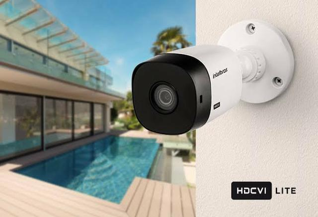 Intelbras kit 8 câmeras proteja sua casa 24 pelo celular + instalação inclusa