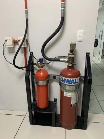 Instalação de sistema de combate à incêndio Saponificante, CO2, FM 200, NOVEC 1230 - Foto 3