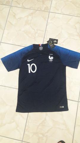 Camisa França Nova Original Nike n°10 db3a7452740e1