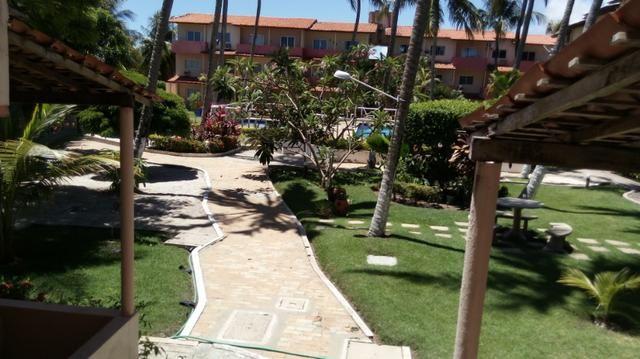 Apartamento Barra de São Miguel, 2 quartos c/ ar condicionado, varanda e piscina - Foto 10