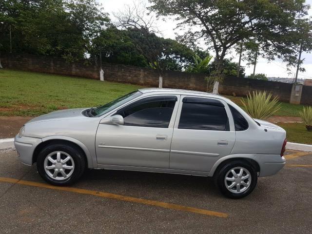 corsa sedan 1.6 8v completo vendo ou troco - 1996