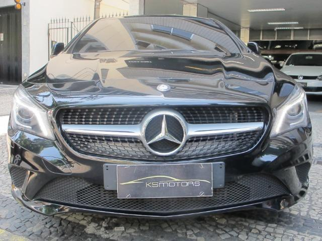 Mercedes CLA 200 First Edition com Teto Solar Elétrico Led's Bi-Xenon GPS Muito Novo 2014 - Foto 5