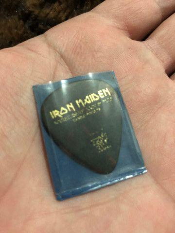 Palheta original Iron Maiden - Foto 6