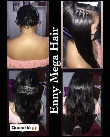 Aplicação e Manutenção de Mega Hair