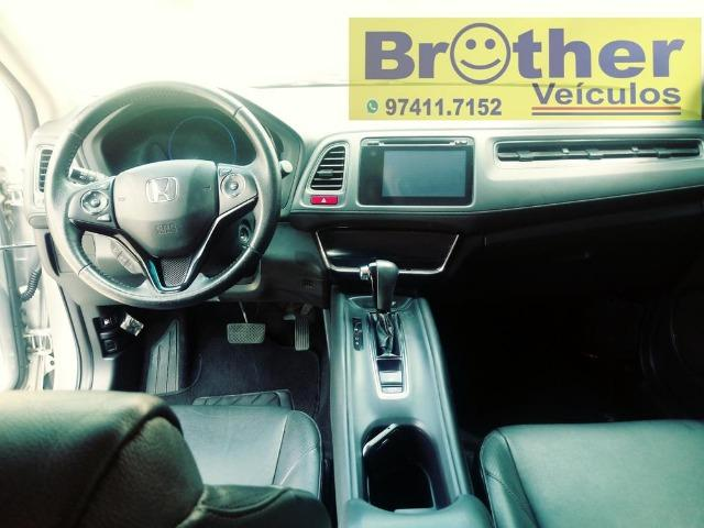 Honda Hr-V Exl Cambio CVT 15/16 Completa - Manual + Chave Reserva - Foto 8