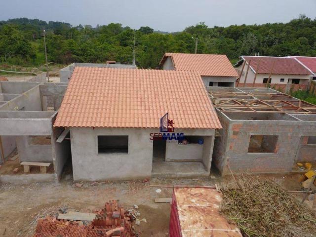 Casa com 2 dormitórios à venda por R$ 125.000 - Orleans Ji-Paraná I - Ji-Paraná/RO - Foto 3