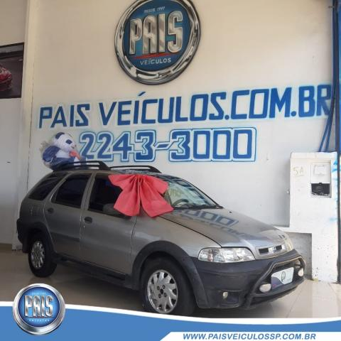 FIAT PALIO WEEKEND ADVENTURE 1.6 8V/16V GASOLINA 2001