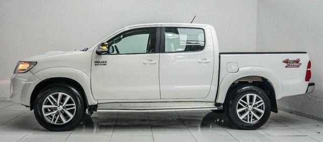 Toyota Hilux 3.0 SRV Turbo Diesel 4x4 Aut 2014 apenas 80.000 KM rodados - Foto 5