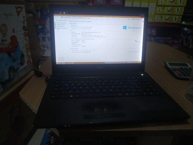 Notebook Philco 500gb e 6gb de RAM