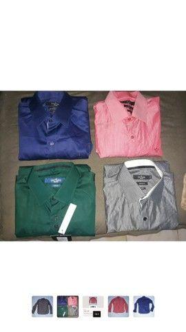 Lote 4 camisas sociais - Foto 2