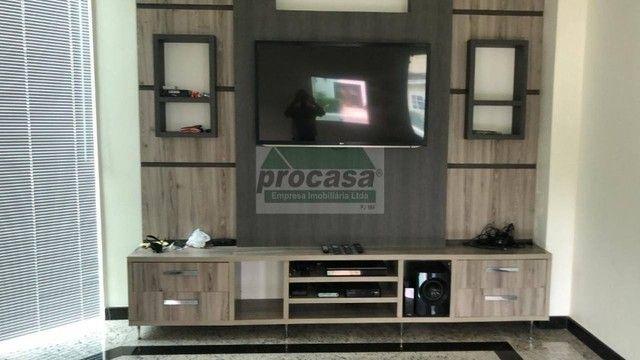 Casa com 4 suites p/ alugar na Ponta Negra em condominio fechado
