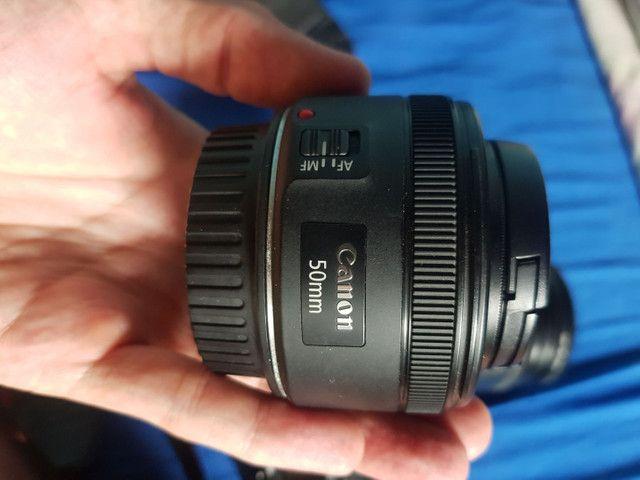 Camera canon 60d + lentes + acessórios  - Foto 4