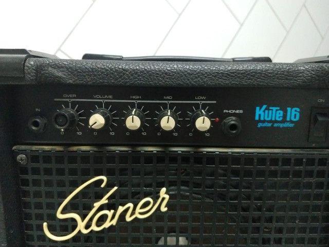 Caixa de som Cubo Staner Kute 16 para guitarra/violão - Foto 2