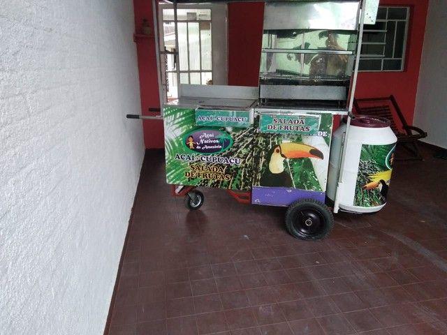 Oportunidade de negócio carrinho de churrasquinho e açaí - Foto 2