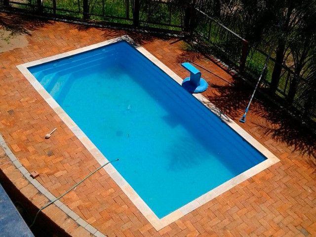 LS - Lazer em família -piscina de fibra 5,60 x 2,90 x 1,10 - Foto 4