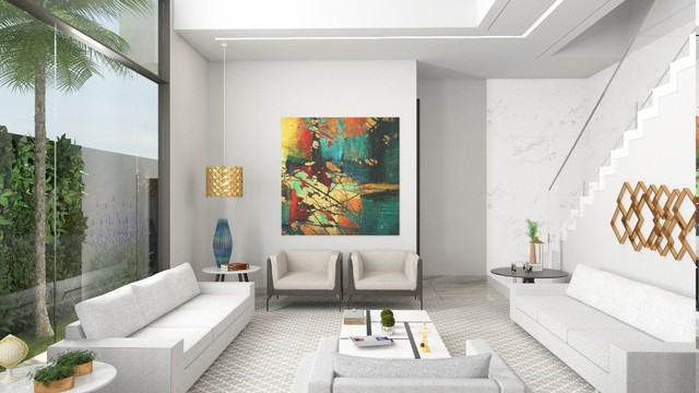 Sobrado no Condomínio Residencial Alphaville III, 325 m² com 4 suítes sendo uma master - Foto 3