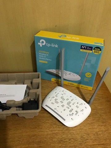Modem roteador TP-Link Wireless TD-W8961N 2 em 1 - Foto 4