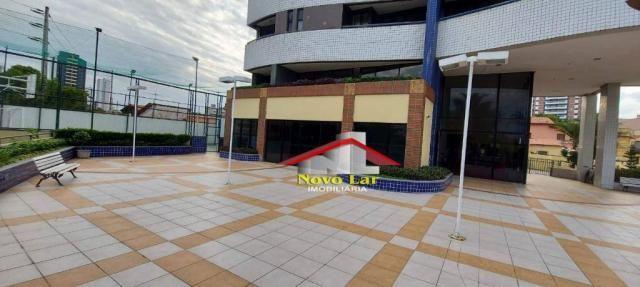 Apartamento com 3 dormitórios para alugar, 113 m² por R$ 1.800,00/mês - Fátima - Fortaleza - Foto 4