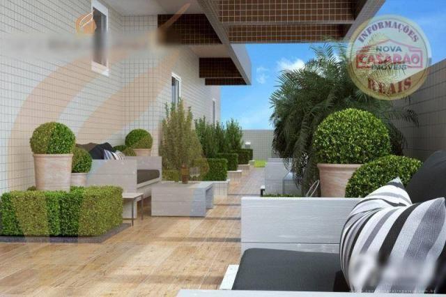 Apartamento com 2 dormitórios à venda, 93 m² por R$ 465.000 - Aviação - Praia Grande/SP - Foto 7