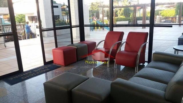 Apartamento com 3 dormitórios para alugar, 113 m² por R$ 1.800,00/mês - Fátima - Fortaleza - Foto 12