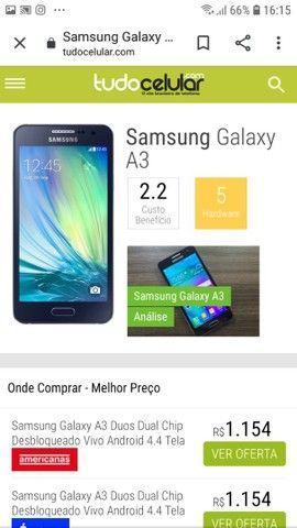 Samsung A3 pra conserto