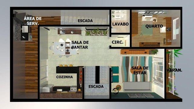 Casa para Venda em Volta Redonda, JARDIM SUÍÇA, 4 dormitórios, 1 suíte, 3 banheiros, 2 vag - Foto 2