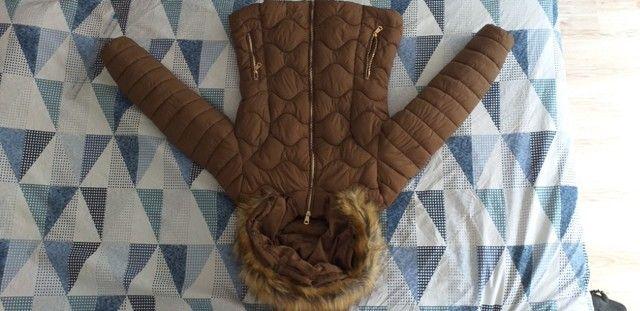 Vendo Jaqueta feminina marrom tamanho M - Foto 3