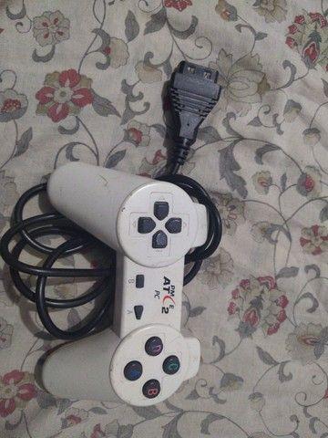 Volante e Joystick Playstation/PC