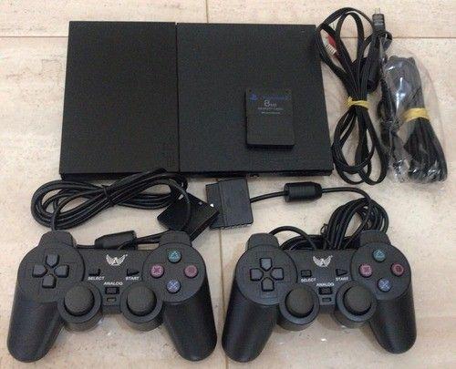 Play Station 2 Slim - PS2 com destravado