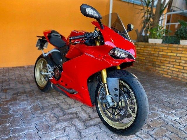 Moto Ducati Panigale S 1299 com incríveis 3.500 Km, vários acessórios, estado de zero! - Foto 8