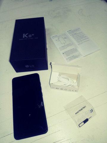 Telefone celular LG K8+ - Foto 2