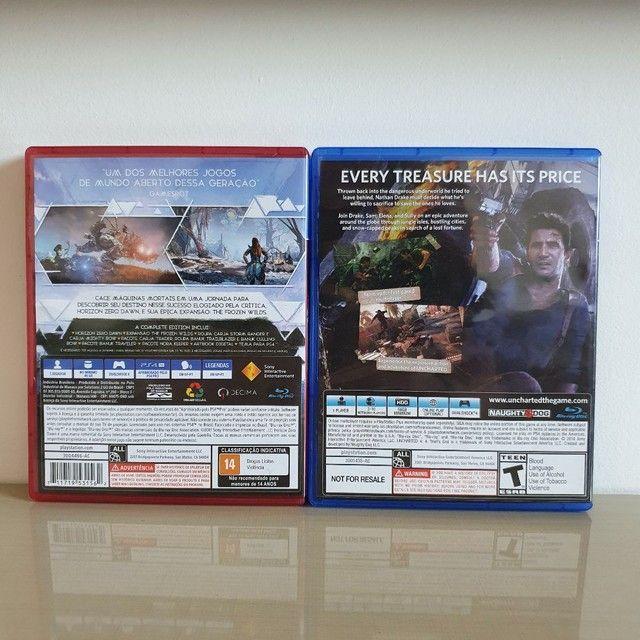Jogos PS4 barato - R$ 40,00 CADA  - Foto 3