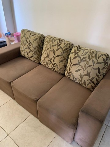 Vendo Sofá  chaise conservadíssimo