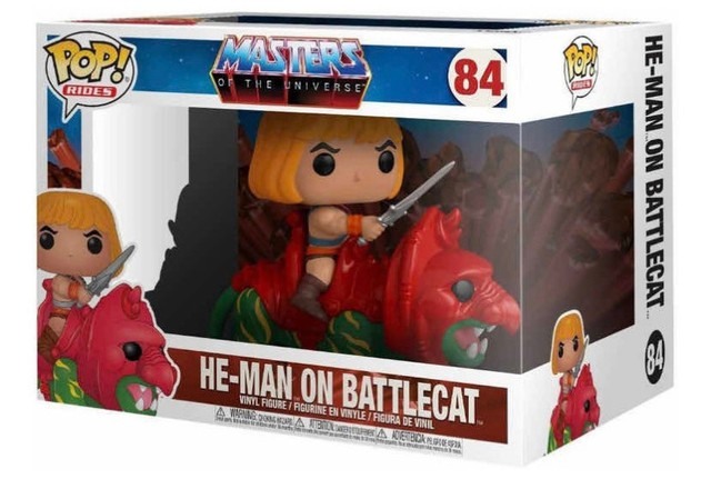Funko Pop! Rides Masters of The Universe: He-Man on BattleCat #84 - Foto 3